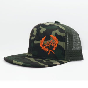 CAMO CADDY LOGO MESH BACK