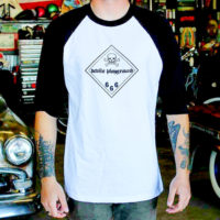 Warning Label Baseball Tee